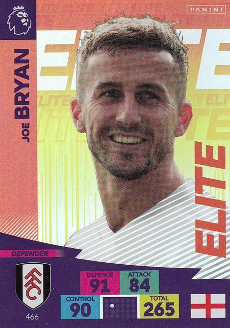 #466 Joe Bryan (Fulham) Adrenalyn XL Premier League 2020/21 ELITE