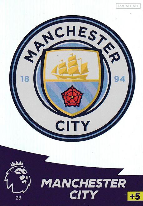 #28 Club Badge (Manchester City) Adrenalyn XL Premier League 2020/21