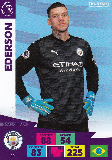 #29 Ederson (Manchester City) Adrenalyn XL Premier League 2020/21