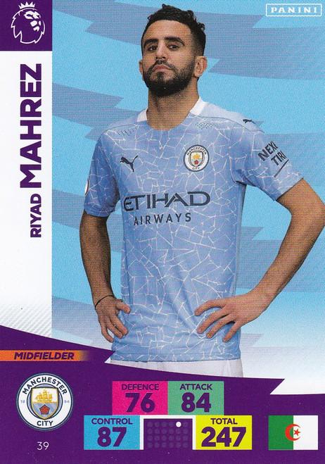 #39 Riyad Mahrez (Manchester City) Adrenalyn XL Premier League 2020/21