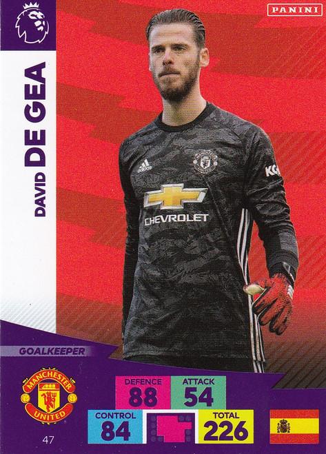 #47 David De Gea (Manchester United) Adrenalyn XL Premier League 2020/21