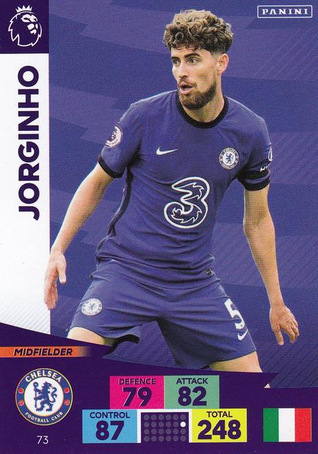 #73 Jorginho (Chelsea) Adrenalyn XL Premier League 2020/21