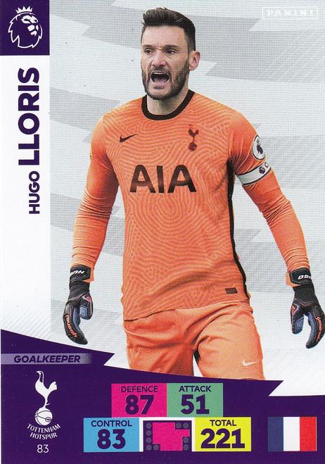 #83 Hugo Lloris (Tottenham Hotspur) Adrenalyn XL Premier League 2020/21