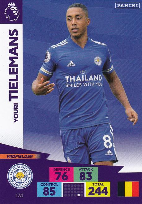 #131 Youri Tielemans (Leicester City) Adrenalyn XL Premier League 2020/21