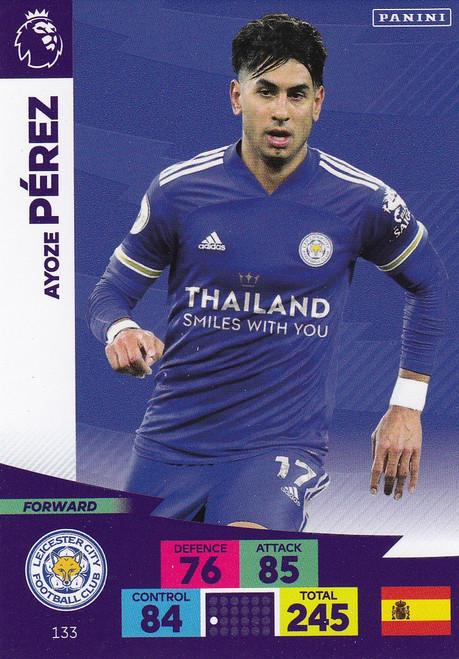 #133 Ayoze Perez (Leicester City) Adrenalyn XL Premier League 2020/21