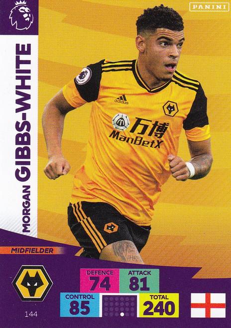 #144 Morgan Gibbs-White (Wolverhampton Wanderers) Adrenalyn XL Premier League 2020/21
