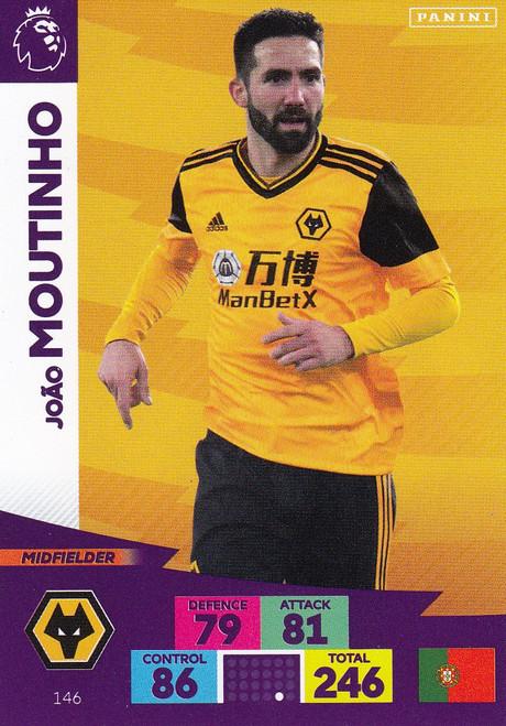 #146 Joao Moutinho (Wolverhampton Wanderers) Adrenalyn XL Premier League 2020/21