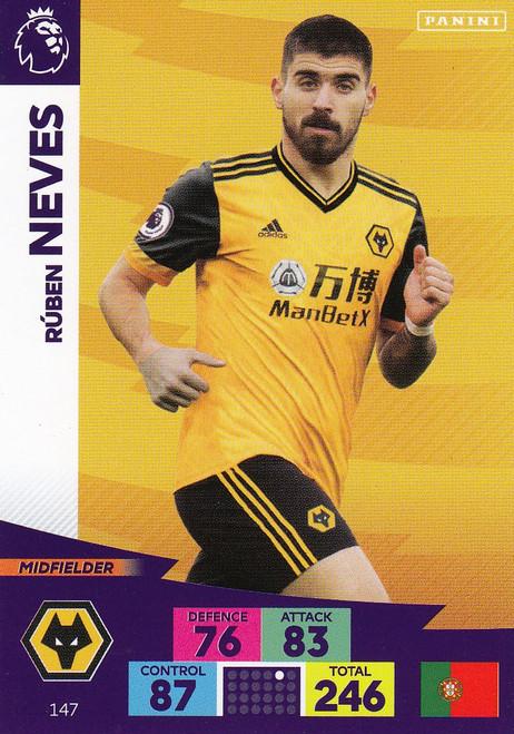 #147 Ruben Neves (Wolverhampton Wanderers) Adrenalyn XL Premier League 2020/21