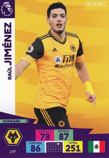#149 Raul Jimenez (Wolverhampton Wanderers) Adrenalyn XL Premier League 2020/21