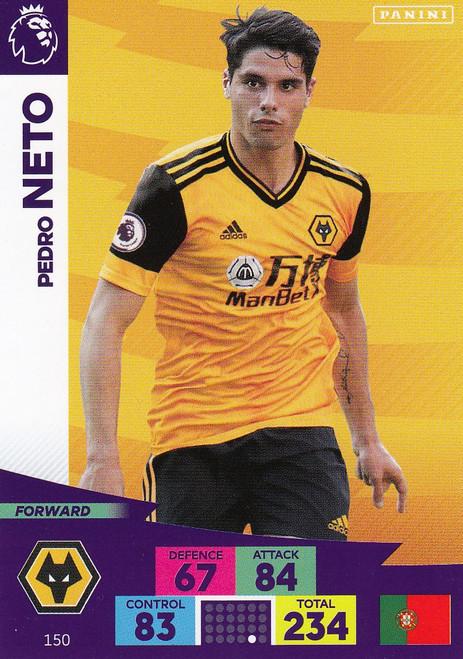 #150 Pedro Neto (Wolverhampton Wanderers) Adrenalyn XL Premier League 2020/21