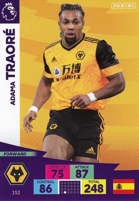 #152 Adama Traore (Wolverhampton Wanderers) Adrenalyn XL Premier League 2020/21