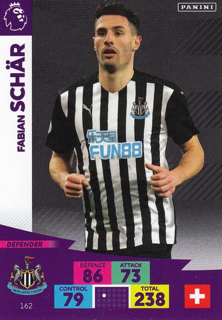 #162 Fabian Schar (Newcastle United) Adrenalyn XL Premier League 2020/21