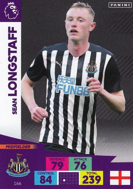 #166 Sean Longstaff (Newcastle United) Adrenalyn XL Premier League 2020/21