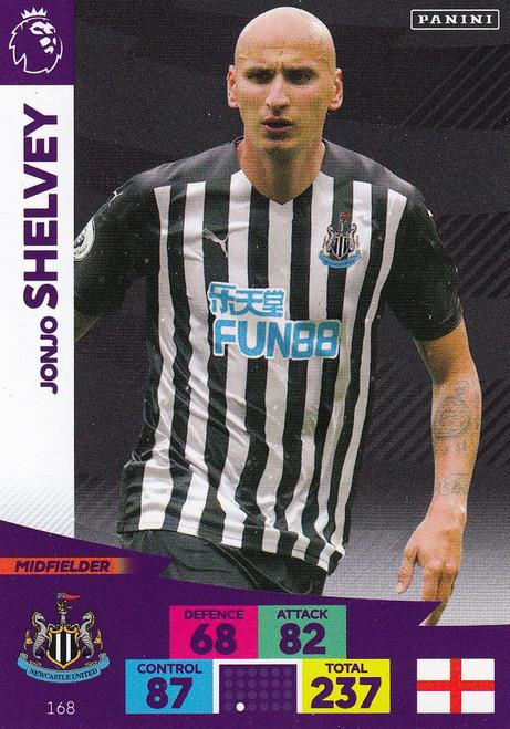 #168 Jonjo Shelvey (Newcastle United) Adrenalyn XL Premier League 2020/21