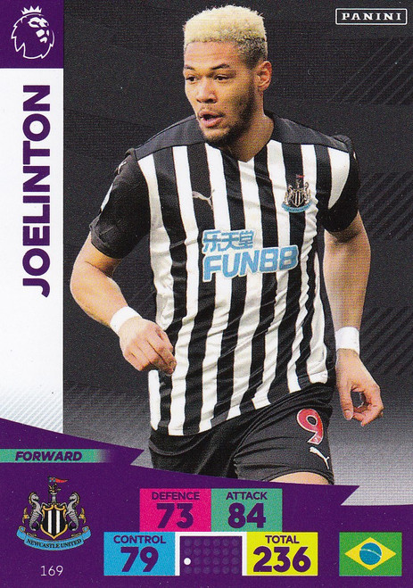 #169 Joelinton (Newcastle United) Adrenalyn XL Premier League 2020/21