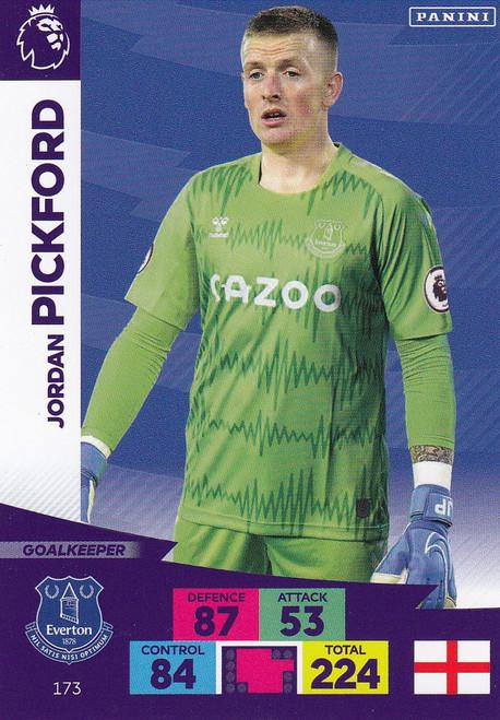 #173 Jordan Pickford (Everton) Adrenalyn XL Premier League 2020/21