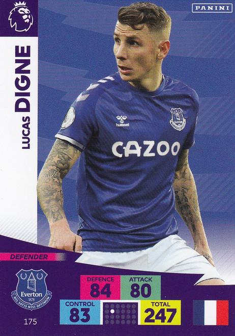 #175 Lucas Digne (Everton) Adrenalyn XL Premier League 2020/21