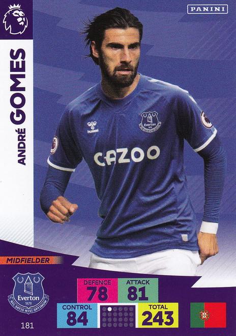 #181 Andre Gomes (Everton) Adrenalyn XL Premier League 2020/21