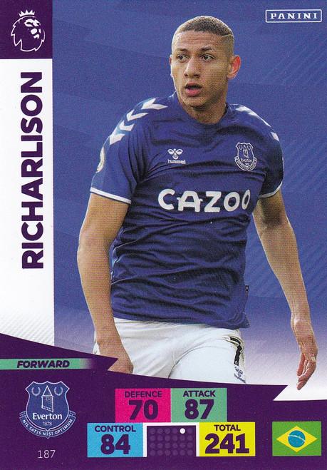 #187 Richarlison (Everton) Adrenalyn XL Premier League 2020/21