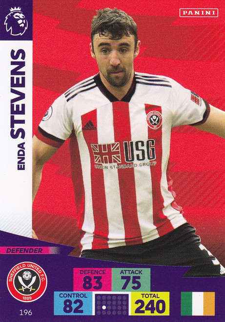 #196 Enda Stevens (Sheffield United) Adrenalyn XL Premier League 2020/21