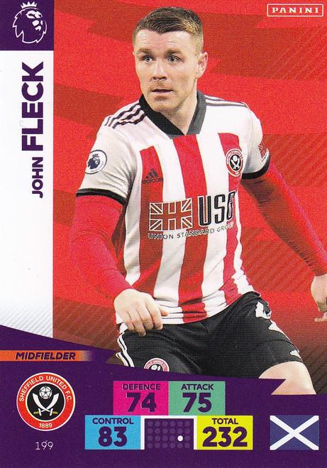 #199 John Fleck (Sheffield United) Adrenalyn XL Premier League 2020/21