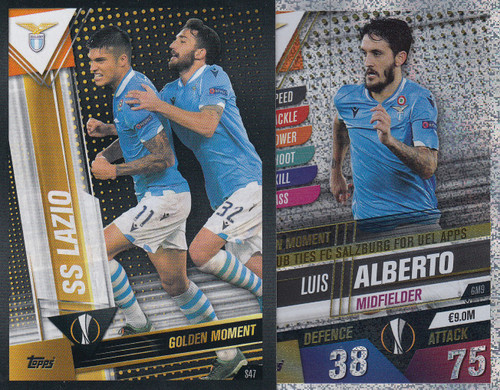 #GM9 Luis Alberto (SS Lazio) Match Attax 101 2019/20 GOLDEN MOMENTS