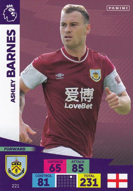 #221 Ashley Barnes (Burnley) Adrenalyn XL Premier League 2020/21