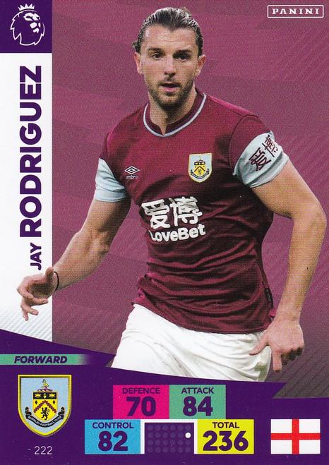 #222 Jay Rodriguez (Burnley) Adrenalyn XL Premier League 2020/21
