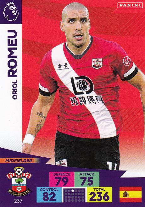 #237 Oriol Romeu (Southampton) Adrenalyn XL Premier League 2020/21
