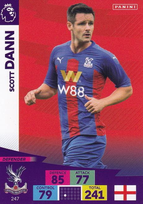 #247 Scott Dann (Crystal Palace) Adrenalyn XL Premier League 2020/21