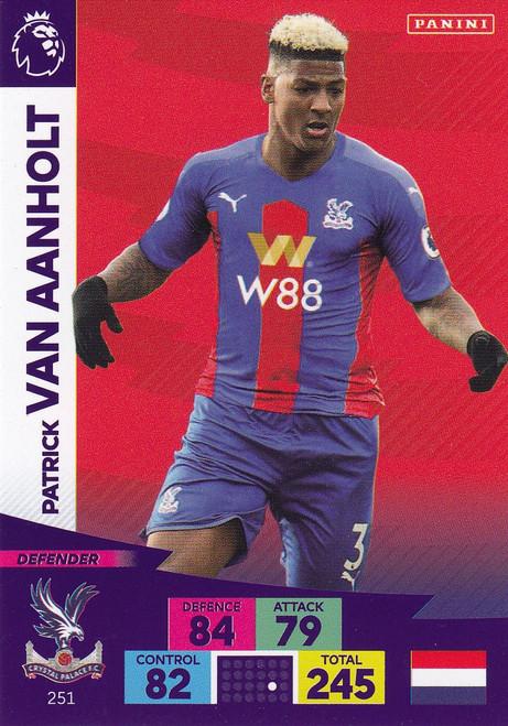 #251 Patrick Van Aanholt (Crystal Palace) Adrenalyn XL Premier League 2020/21