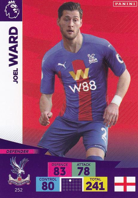 #252 Joel Ward (Crystal Palace) Adrenalyn XL Premier League 2020/21