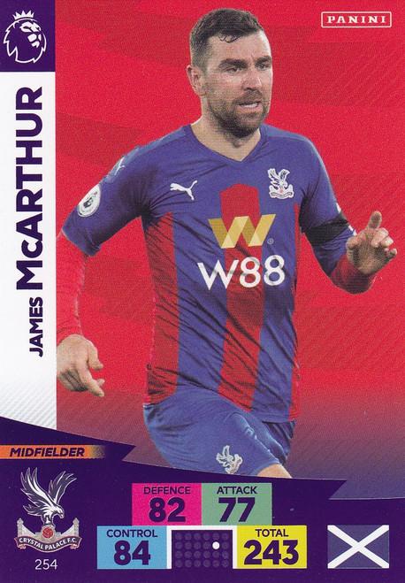 #254 James McArthur (Crystal Palace) Adrenalyn XL Premier League 2020/21