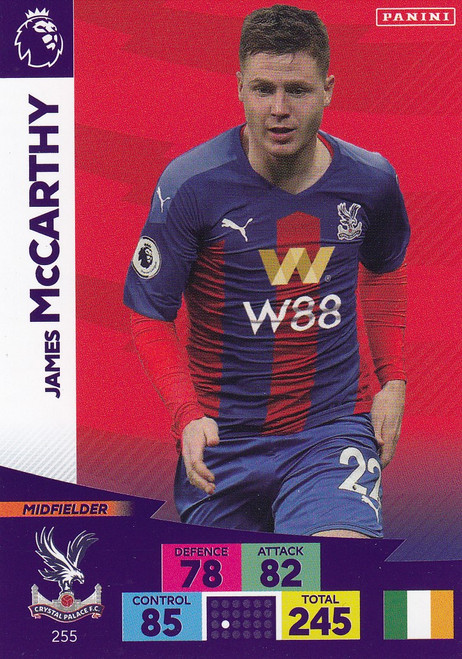 #255 James McCarthy (Crystal Palace) Adrenalyn XL Premier League 2020/21