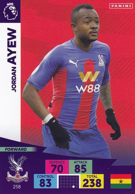 #258 Jordan Ayew (Crystal Palace) Adrenalyn XL Premier League 2020/21