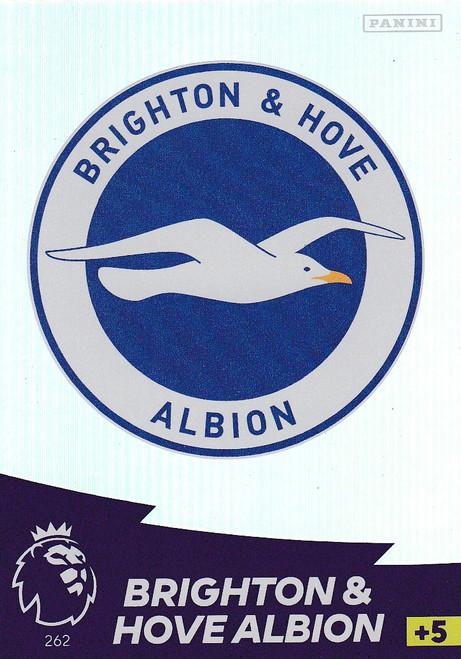 #262 Club Badge (Brighton & Hove Albion) Adrenalyn XL Premier League 2020/21