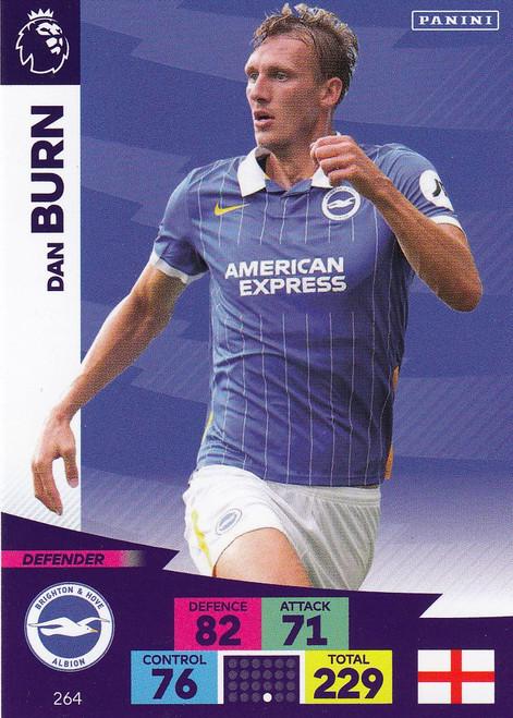 #264 Dan Burn (Brighton & Hove Albion) Adrenalyn XL Premier League 2020/21