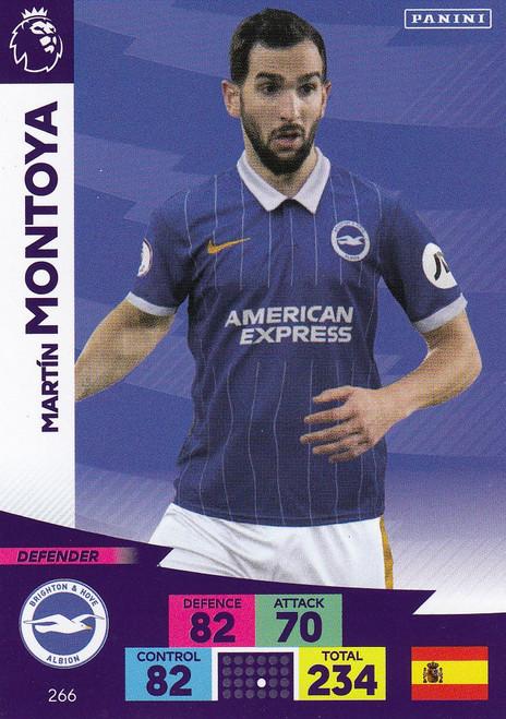 #266 Martin Montoya (Brighton & Hove Albion) Adrenalyn XL Premier League 2020/21