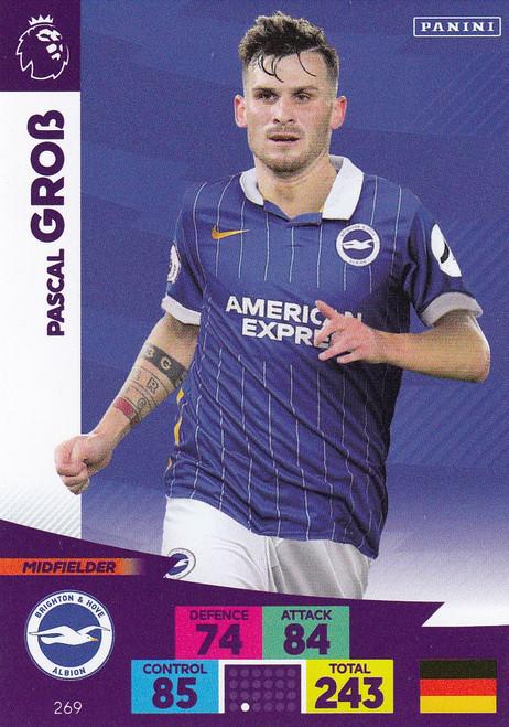 #269 Pascal Gross (Brighton & Hove Albion) Adrenalyn XL Premier League 2020/21
