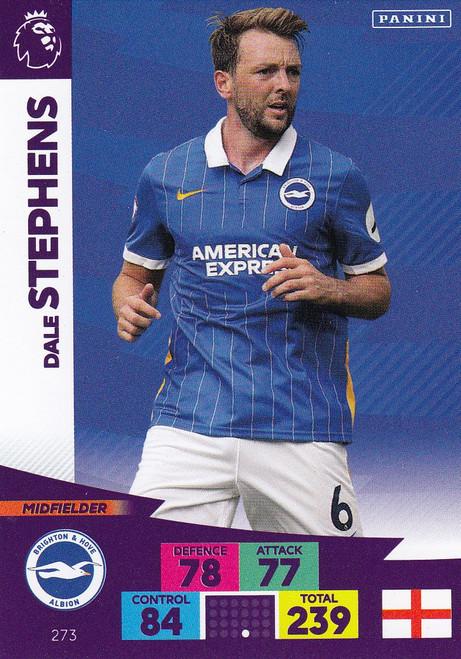 #273 Dale Stephens (Brighton & Hove Albion) Adrenalyn XL Premier League 2020/21