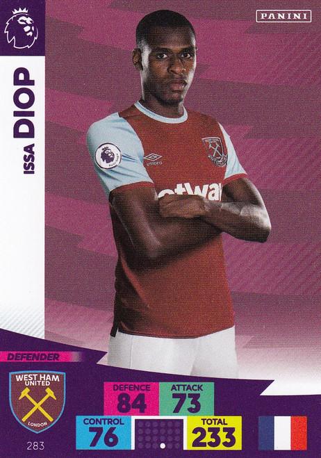 #283 Issa Diop (West Ham United) Adrenalyn XL Premier League 2020/21