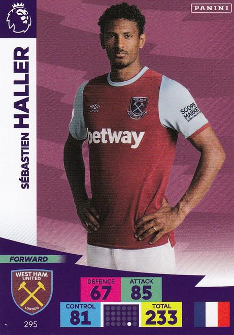 #295 Sebastien Haller (West Ham United) Adrenalyn XL Premier League 2020/21