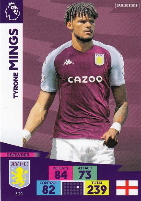 #304 Tyrone MIngs (Aston Villa) Adrenalyn XL Premier League 2020/21
