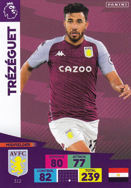 #312 Trezeguet (Aston Villa) Adrenalyn XL Premier League 2020/21