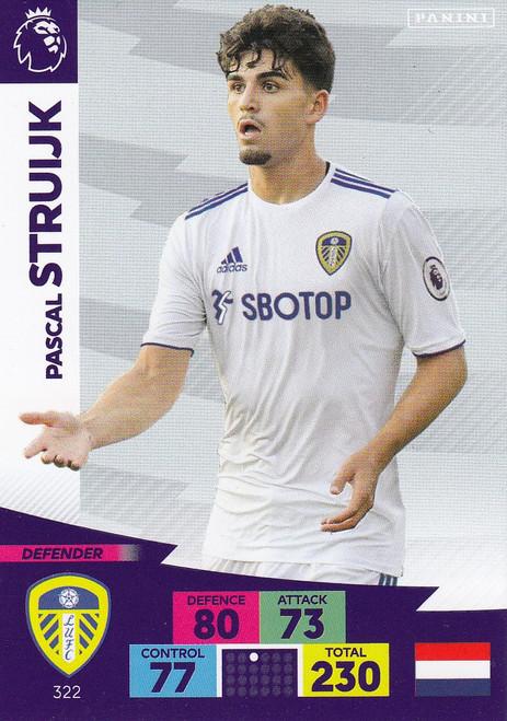 #322 Pascal Struijk (Leeds United) Adrenalyn XL Premier League 2020/21