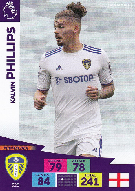 #328 Kalvin Phillips (Leeds United) Adrenalyn XL Premier League 2020/21