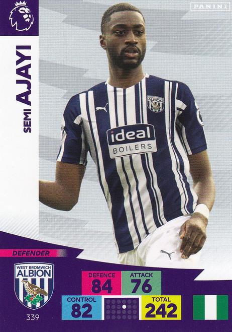 #339 Semi Ajayi (West Bromwich Albion) Adrenalyn XL Premier League 2020/21