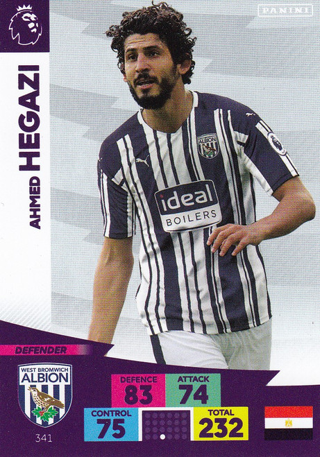 #341 Ahmed Hegazi (West Bromwich Albion) Adrenalyn XL Premier League 2020/21
