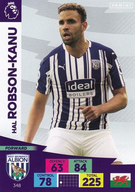 #348 Hal Robson-Kanu (West Bromwich Albion) Adrenalyn XL Premier League 2020/21