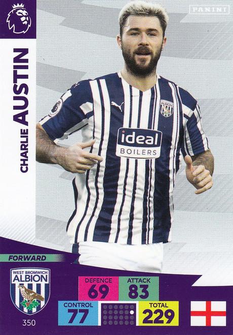 #350 Charlie Austin (West Bromwich Albion) Adrenalyn XL Premier League 2020/21